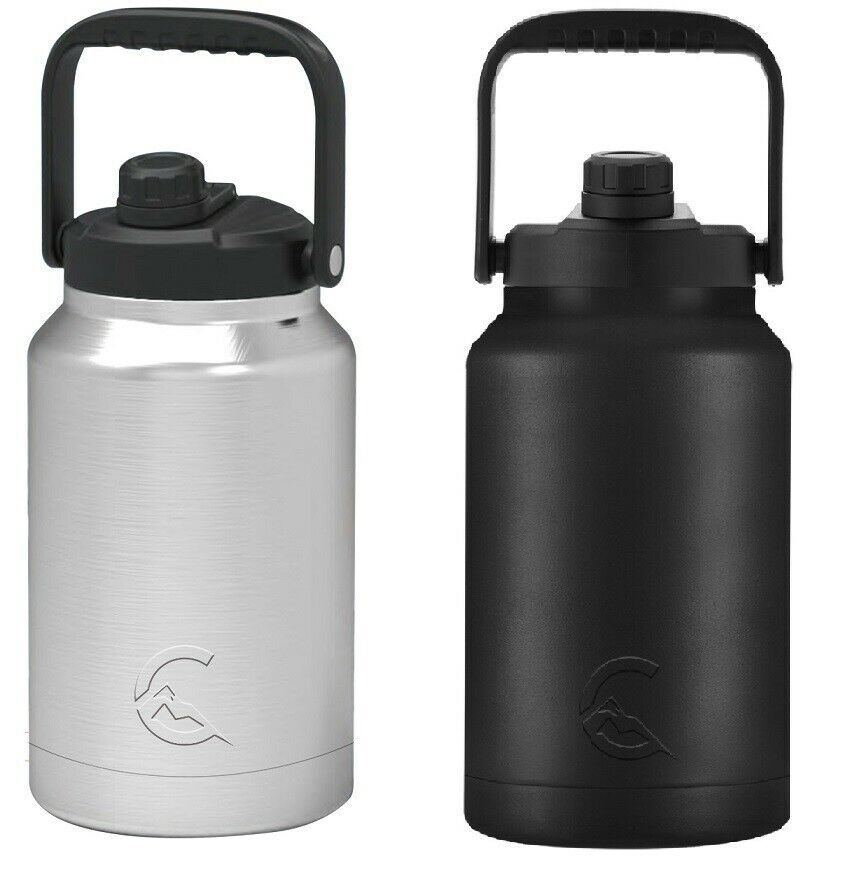 CASCADE TUMBLERS 128OZ ONE GALLON INSULATED STAINLESS STEEL