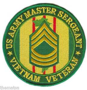 ARMY-MASTER-SERGEANT-VIETNAM-VETERAN-4-EMBROIDERED-MILITARY-PATCH