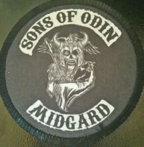 SONS-OF-ODIN-midgard-Patch-parche-vikings-odin-asatru