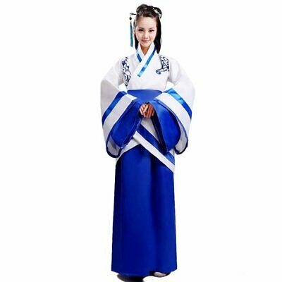 Asian Women Costume (Halloween or Cosplay Women Adorable Cute Tradition Asian Chinese Han Fu)