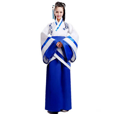 Chinese Women Costumes (Women Adorable Cute Tradition Asian Chinese Dress Dance Performance)