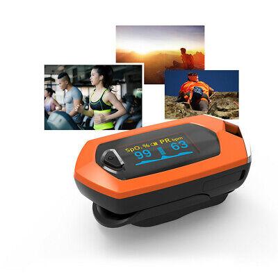 Rechargeable Finger Pulse Oximeter Spo2pr Blood Oxygen Heart Rate Monitor Us