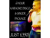 Singer and disco package