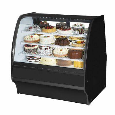 True Tgm-r-48-scsc-b-w 48 Refrigerated Bakery Display Case