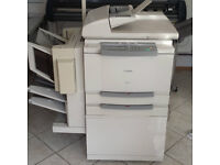 Canon GP-215 Large high speed digital A3 printer copier with sorter and electric stapler