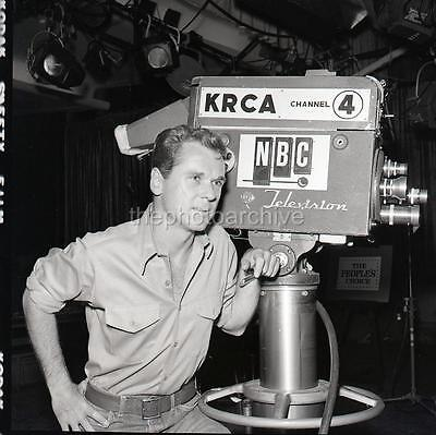 JACKIE COOPER NBC CANDID 1964   Original Camera NEGATIVE U365