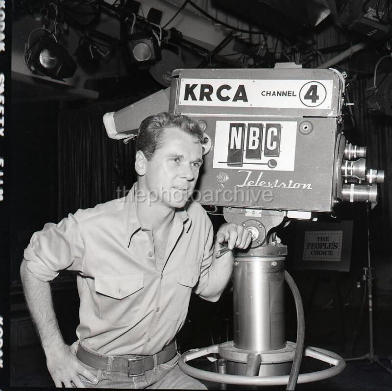 JACKIE COOPER NBC CANDID 1964   Original Camera NEGATIVE U365