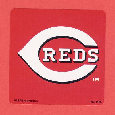 Cincinnati Reds Party Supplies (15 Cincinnati Reds Logo - Large Stickers - Major League)
