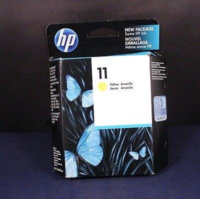 Replacement HP-11 Yellow Inkjet Print Cartridge C4838A Exp 2012 Save (Replacement Yellow Inkjet)