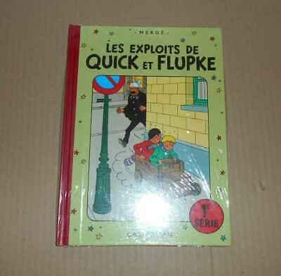 BD Hergé Exlpoits de Quick et Flupke 1ere série RE sous cello