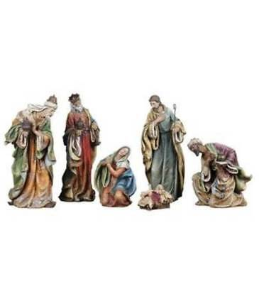 Nativity Set 24 inch Tall Indoor Outdoor Quality Traditional Style (Nativity Outdoor Sets)