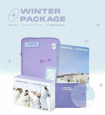 BTS Official 2021 Winter Package in Gangwon Full Packaged Sealed NEW