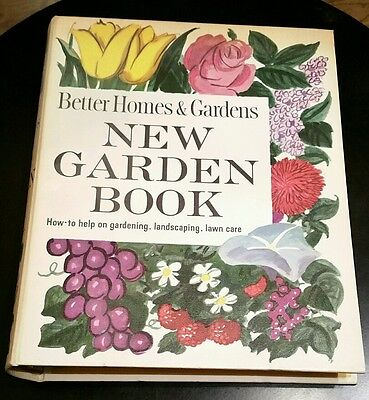Vintage Better Homes and Gardens New Garden Book- 1961 HC Landscaping, Lawn Care