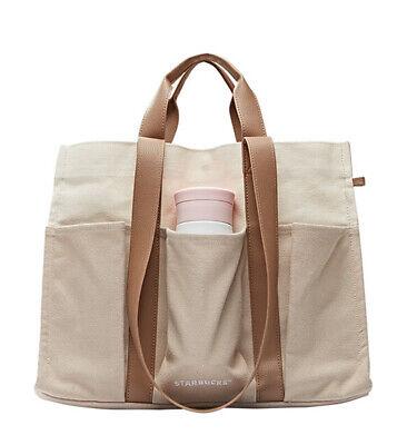 Christmas Limited Edition Starbucks Korea 2020 Holiday Multi Shopping Tote Bag