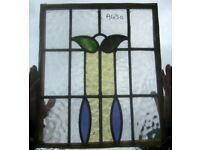 A430 & A431 Pair stained glass windows Ca 1900