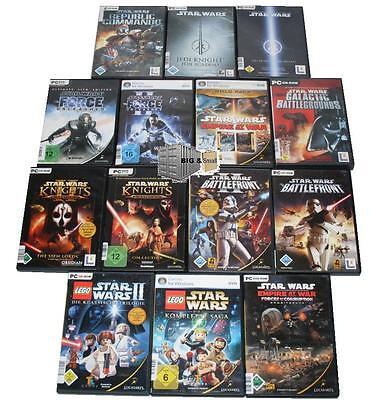 Stars Wars Jedi (Star Wars PC, nur 1 Spiel auswählen - Jedi Knight Empire at War Force Galactic)