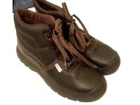 fasco SAFETY BOOTS, NEVER WORN, SIZE 11/12 !!!!!!!!!!!!!!!!!!!!!!!!!!