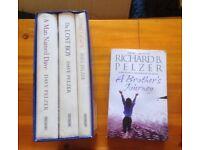 hardback David Pelzer trio set nand Richard Pelzer paperback