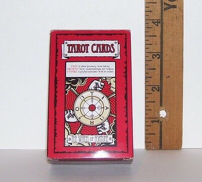 NEW WITHOUT BOX FORTUNE TELLING WHEEL OF FORTUNE DECK OF TAROT CARDS