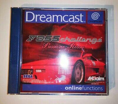 F355 Challenge Passione Rossa   SEGA Dreamcast Complete PAL - Ferrari