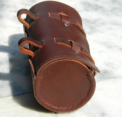 New Leather Bicycle Cycle Round Tool Bag Vintage Look Gift Best Quality