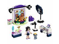 LEGO Friends bundle X4 - 41305 41306 41307 41308 - cakes/photo/labbeach scooter