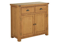 Heart of House Kent Solid Oak & Oak Veneer Small Sideboard