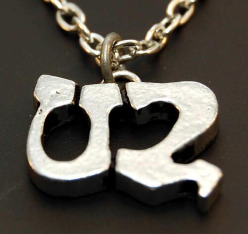 Vintage Necklace & Pin Set - U2 Zooropa Tour Pendant Original - NEW -old stock