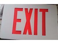 NEW Simkar SCLI2GW-REM 2 Face Exit//Emergency Combo GREEN Remote  *FREE SHIP*