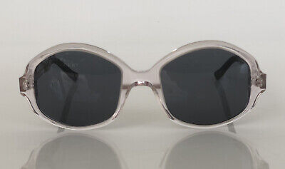 Very French Gangsters 100% Handmade In France Clear Vintage Sunglasses