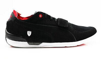 Puma Ferrari Driving Power 2 Low SF Sneakers black rosso corsa - Driving Sneaker
