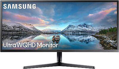 "Samsung LS34J552WQNXZA-RB 34"" 21:9 FreeSync LCD Monitor  Cer"