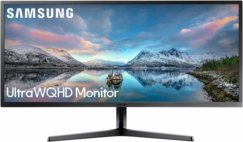 "Samsung LS34J552WQNXZA-RB 34"" 21:9 FreeSync LCD Monitor  Certified Refurbished"
