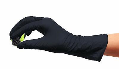 Medical Exam Low Derma Nitrile Glove, FDA Approved,Non Sterile, 100 Gloves,Black
