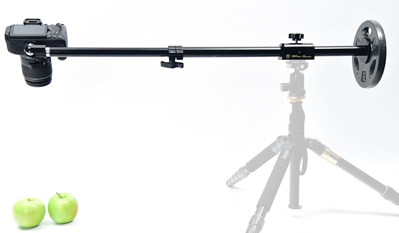 Glide Gear OH50 Overhead Camera Smartphone Photography Video Boom Tripod Stand