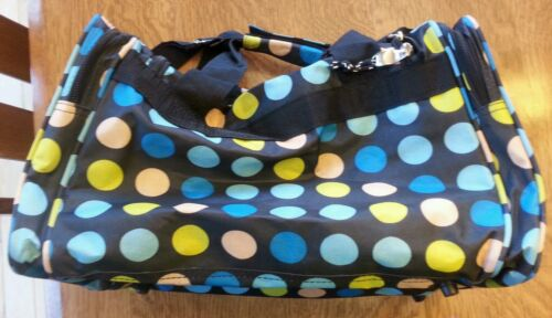 ROCKLAND LUGGAGE 19 INCH TOTE BAG MULTI BLUE DOTS ONE SIZE