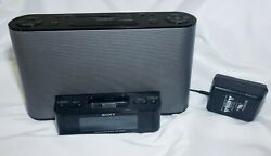 Sony Dream Machine ICF-CS10iP Alarm Clock AM/FM Radio w/iPod iPhone Dock