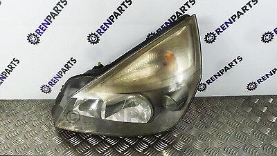 Renault Espace IV PH1 03-06 NS UK Passenger Side Headlight Lamp Halogen *Faded*