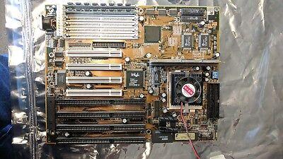 Anilam 3000 3200 3300mk Motherboard Ga-586hx Incl Processor Memory And Fan