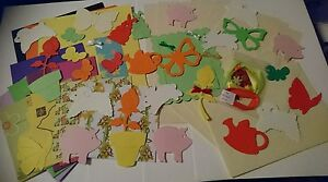 FARMYARD CARD KIT MAKES 5 X CARDS GREAT FOR CHILDRENS CARD MAKING FREE POSTAGE