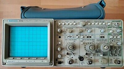 Original Tektronix Portable Oscilloscope 2232 Good Condition