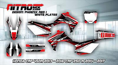 Honda Graphics Kit Decals Design Stickers CRF 450R 2013-2016 250R 2014-2017 MX