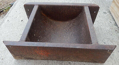 Quite Unusual Steel Feeding Trough - Great for Planter or Display 13
