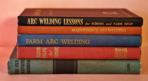 VINTAGE ARC WELDING AND OXY-ACETYLENE MANUALS