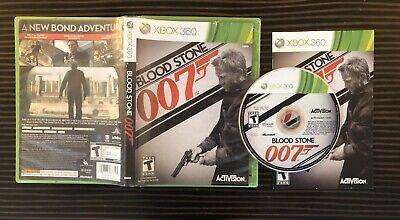 007: Blood Stone Microsoft Xbox 360 2010 James Bond Daniel Craig Bloodstone