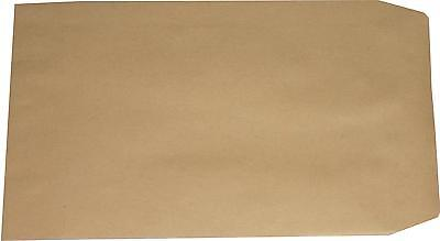 100 St. Versandtaschen B5, braun ohne Fenster 250x176 mm Briefumschläge