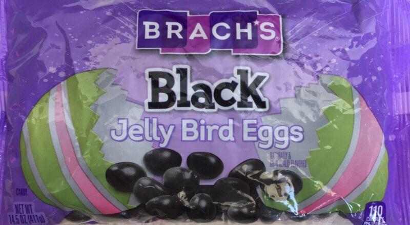 (3) Brach's~Black Jelly Bird EggsJelly Beans~14.5 oz Per Bag~FRESH~FAST SHIPPING