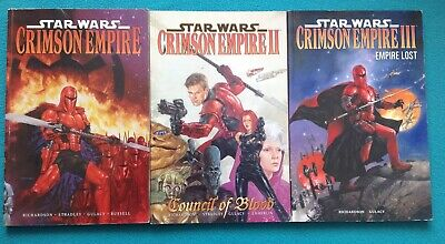 Star Wars - Crimson Empire Trilogy (Paperback Graphic Novel)