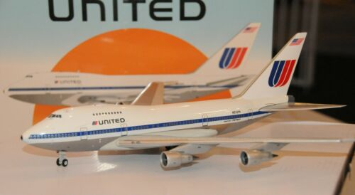 Inflight 200 United Airlines B747SP