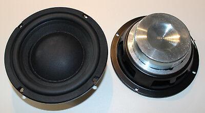 "2x Kenford PRO-165 16cm 6,5"" 165mm PA Bass Lautsprecher Tieftöner #7451 PAAR"